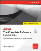 Herb Schildt; Java: The Complete Reference, Eighth Edition; 0071606300