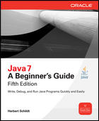 Herb Schildt; Java 7: A Beginner's Guide; 0071606327